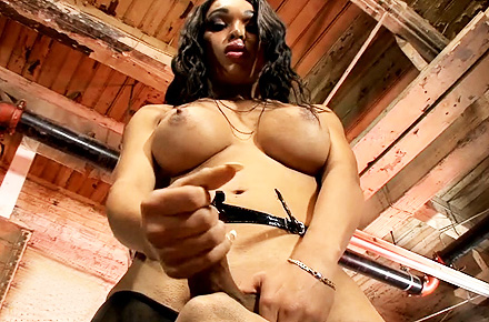 Adriana lynn rush worship. Black nasty tranny Adriana pees and gets blowed